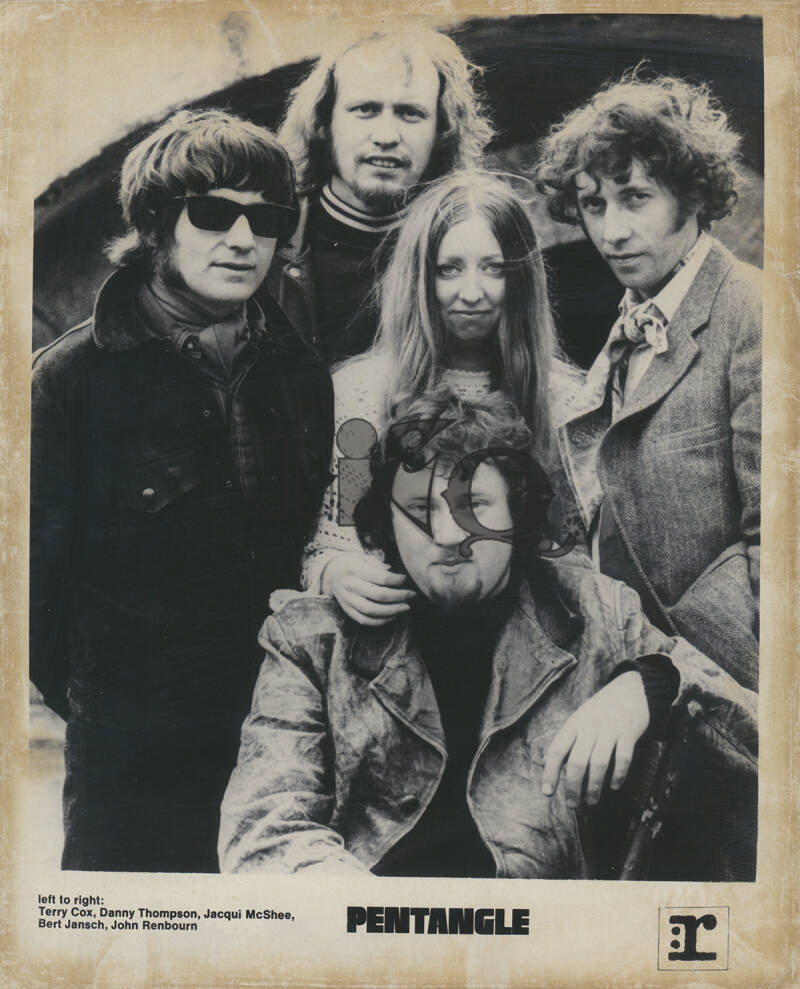 The Pentangle - 3P Biografie - January 1971 [Holland] - Press Kit