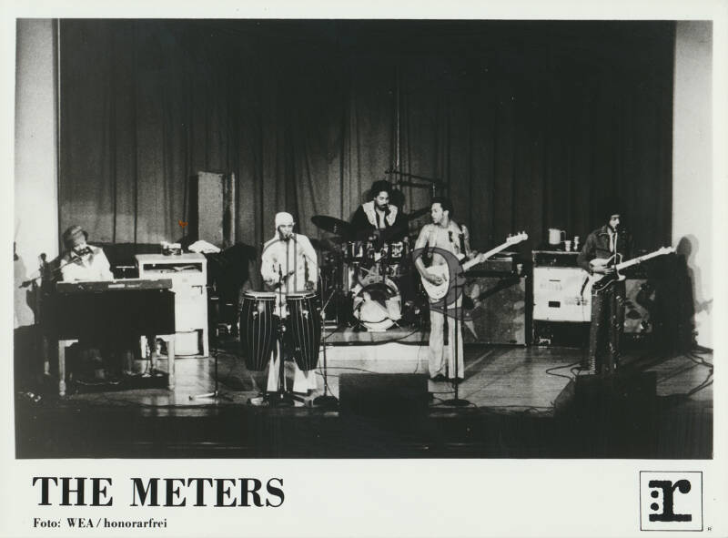 The Meters - Media Information - May 1977 [USA] - Press Kit
