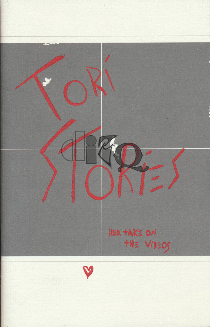 Tori Amos - Tori Stories: Her Take On The Videos - 1998 [USA] - Promo Booklet