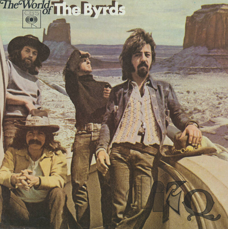 The Byrds - The World Of The Byrds - 1970 [Holland] - Press Brochure