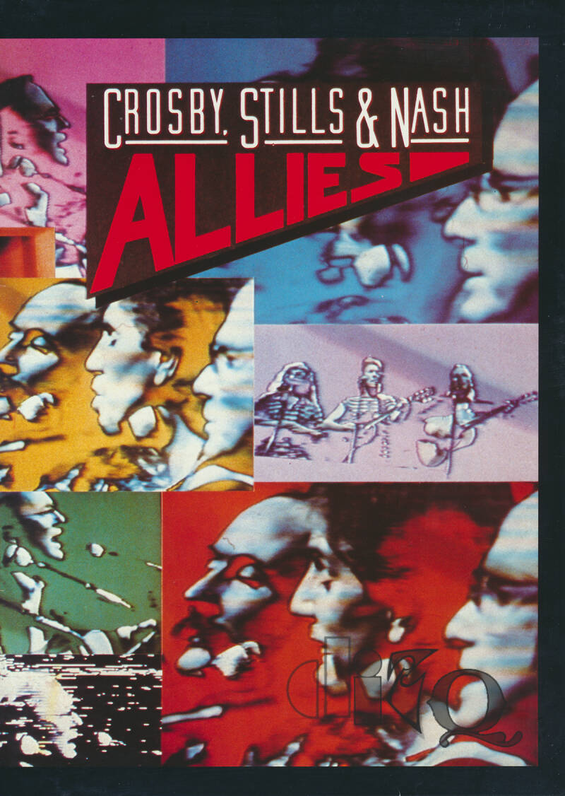 Crosby, Stills & Nash - Allies - 1983 [Germany] - Press Kit