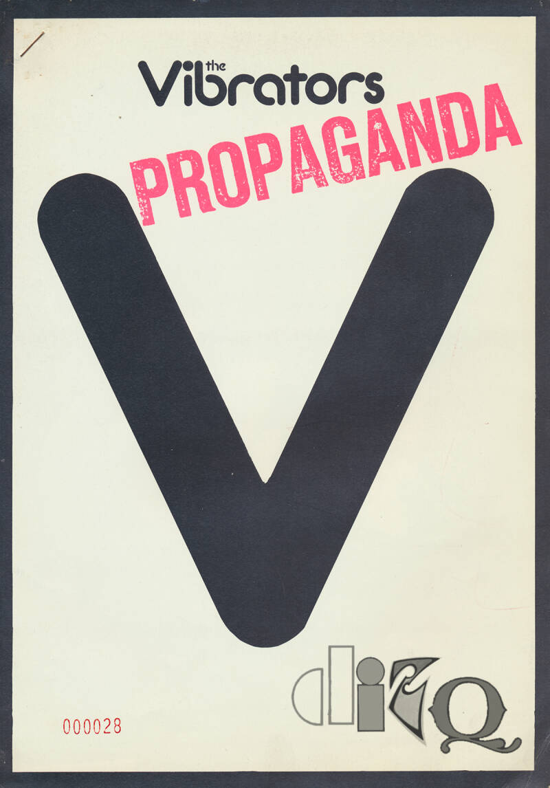 The Vibrators - Propaganda - 1977 [UK] - Press Kit