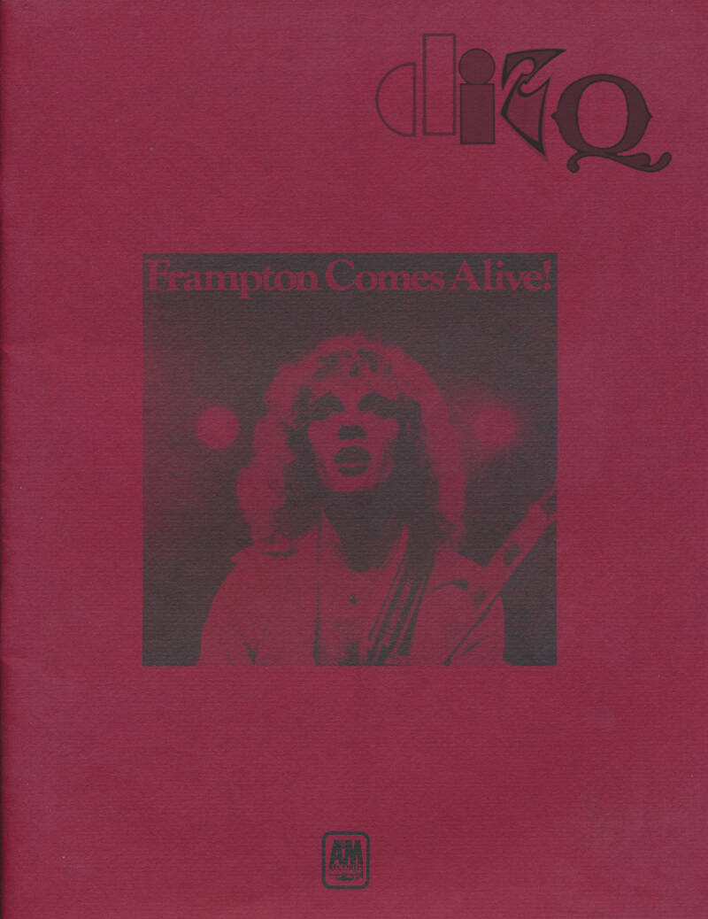 Peter Frampton - Frampton Comes Alive - 1976 [USA] - Press Book