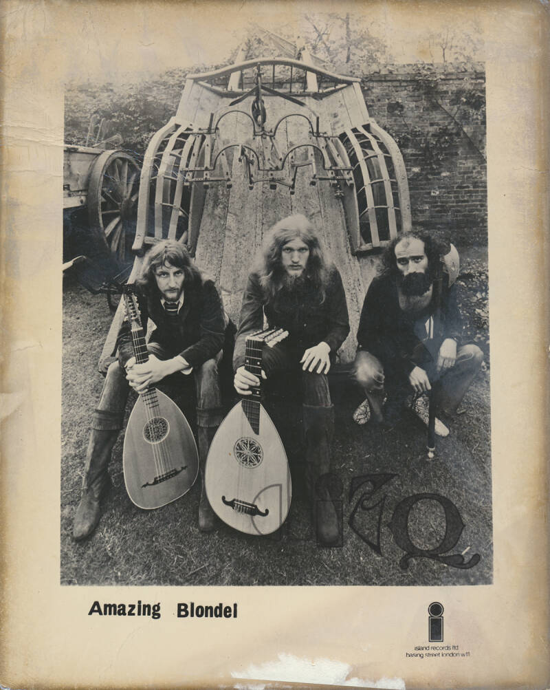 Amazing Blondel - 1970 [UK] - Press Photo