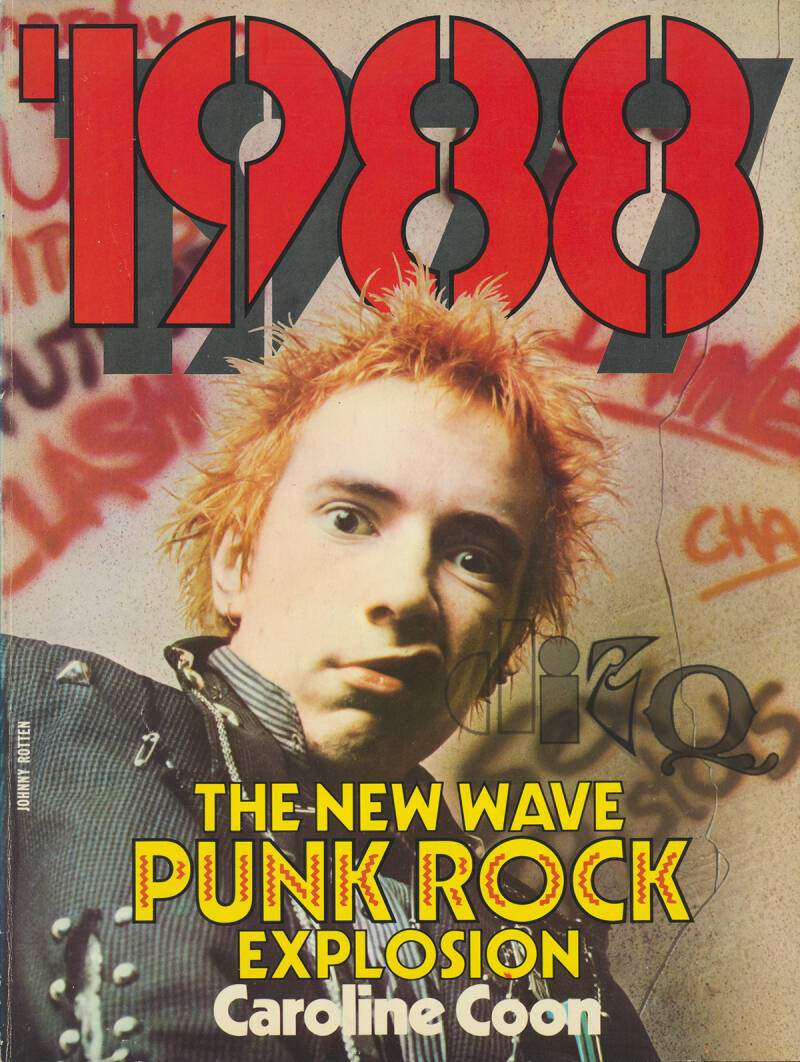 1988: The New Wave Punk Rock Explosion - 1977 [UK] - Book