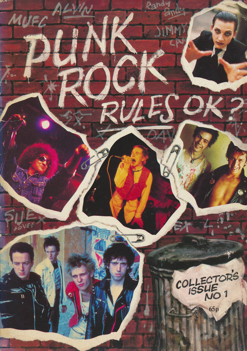 Punk Rock Rules OK? - Collectors Issue No 1 - 1977 [UK] - Book