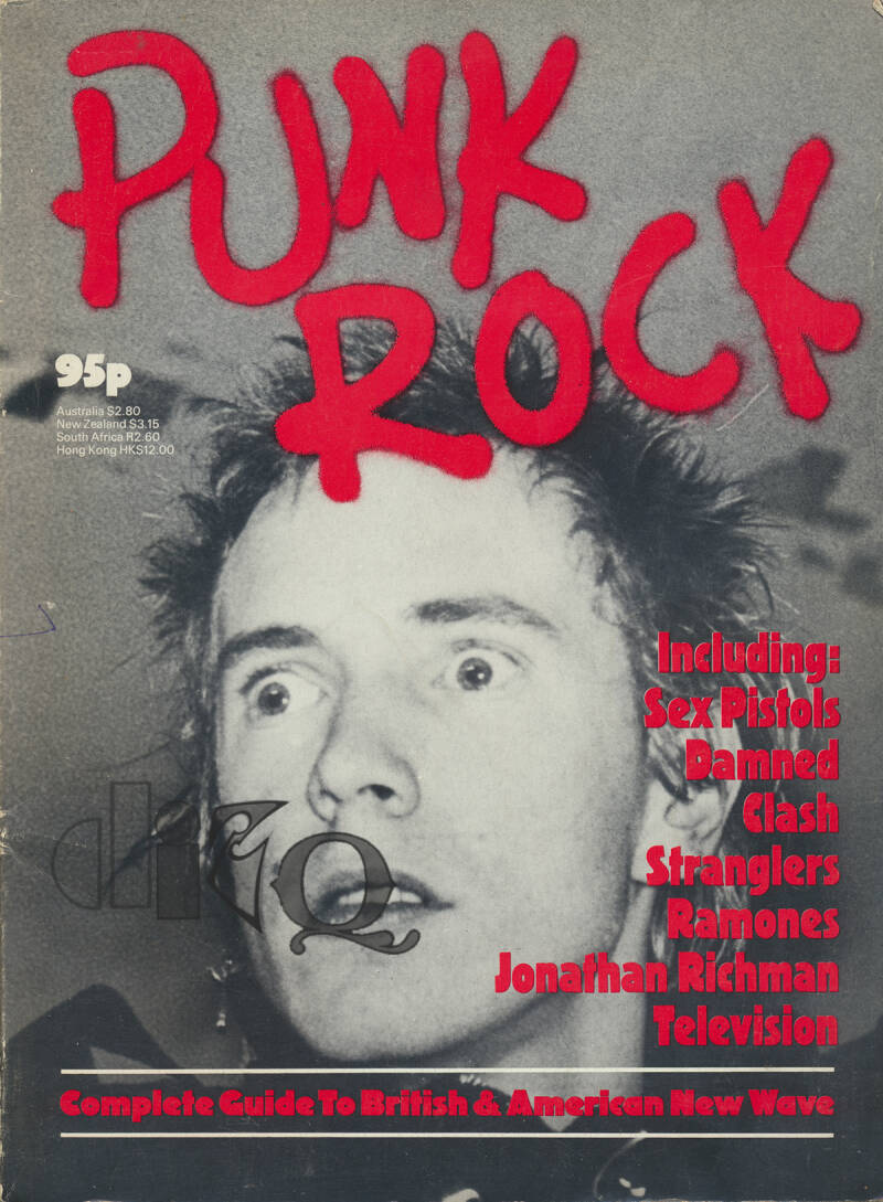 Punk Rock - 1977 [UK] - Book