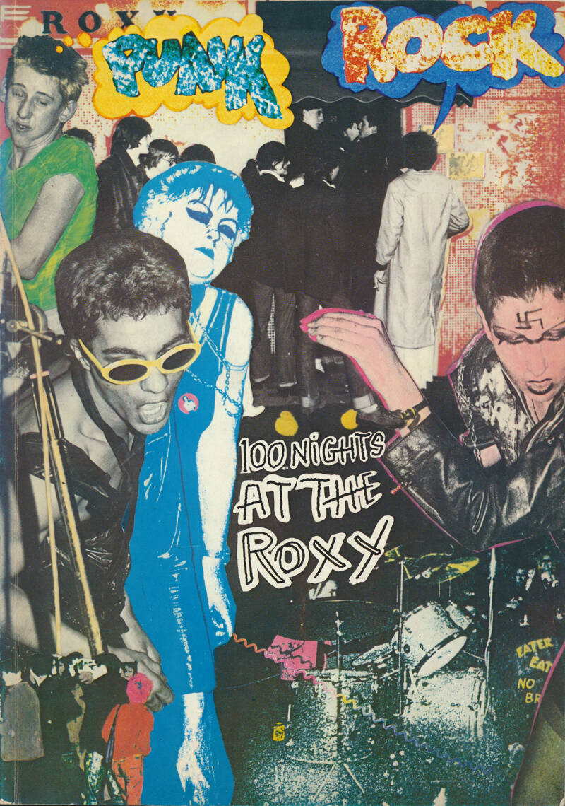 100 Nights At The Roxy - 1978 [UK] - Book