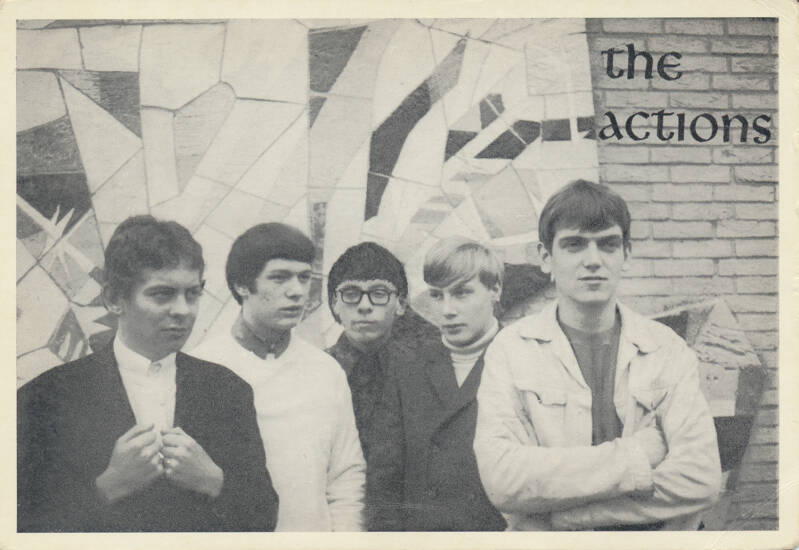 The Actions - 1960s [Holland] - Publicity Postcard