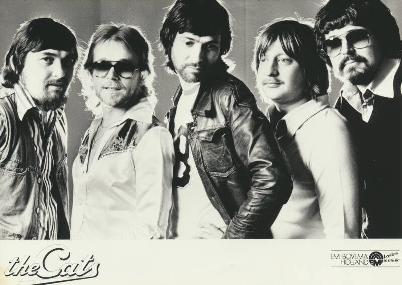 The Cats - 1970s [Holland] - Publicity Photocard