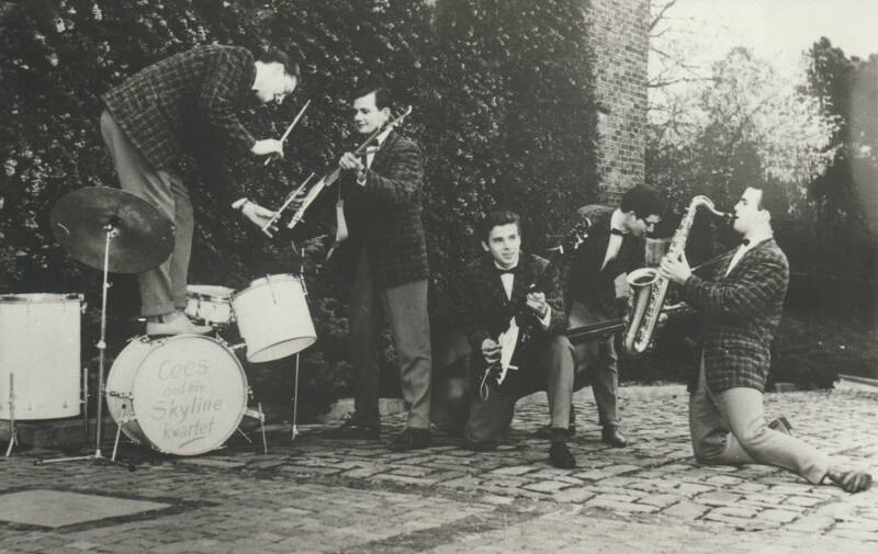 Cees and the Skyline Kwartet - 1960s [Holland] - Publicity Photo
