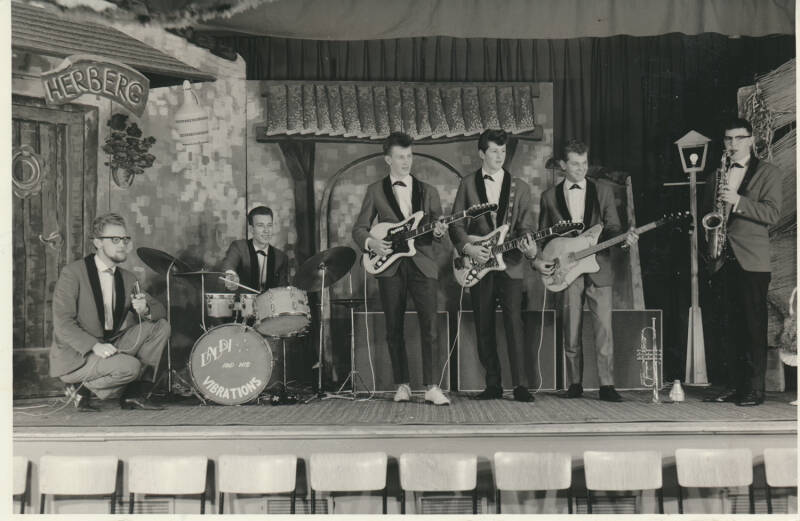 Daddy and the Vibrations - 1960s [Holland] - Publicity Photo