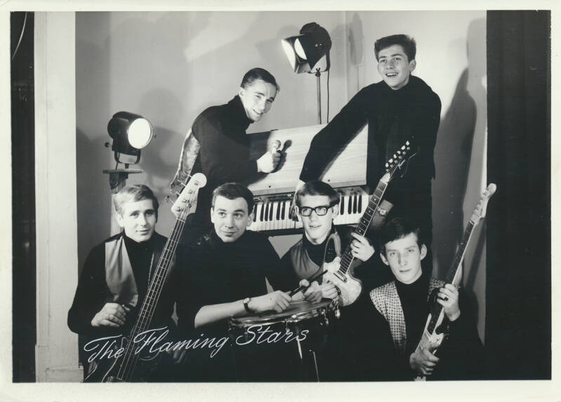 The Flaming Stars - 1960s [Holland] - Publicity Photo