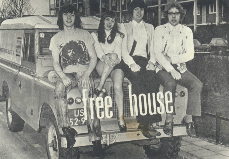 Free-House - 1970s [Holland] - Publicity Photocard
