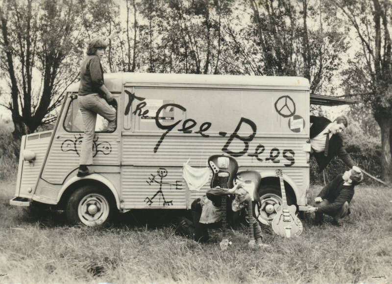 The Gee-Bees - 1960s [Holland] - Publicity Postcard