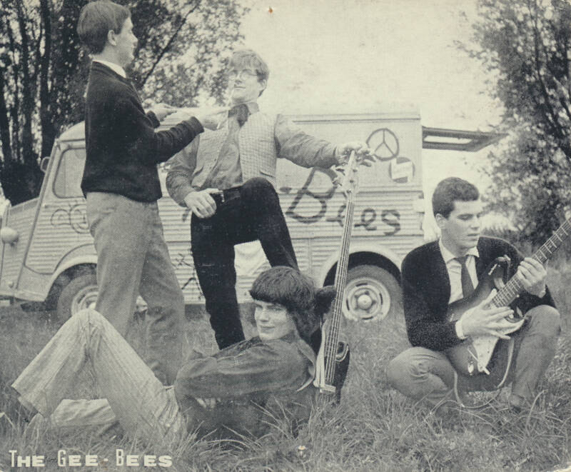 The Gee-Bees - 1960s [Holland] - Publicity Photocard