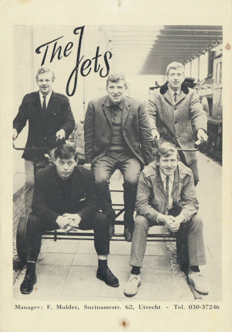The Jets - 1960s [Holland] - Publicity Photo