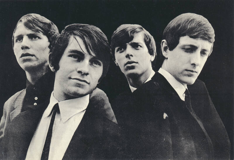 The Motions - 1960s [Holland] - Publicity Photocard