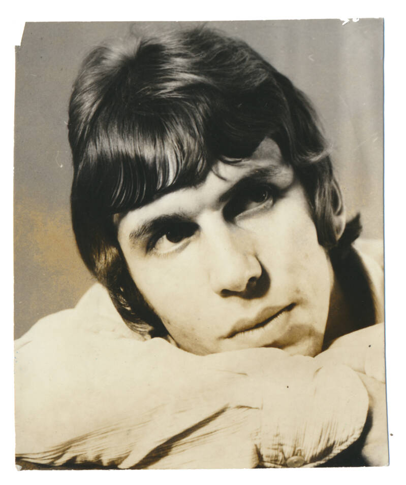 Rudy Bennett (The Motions) - 1960s [Holland] - Photo [autograph?]