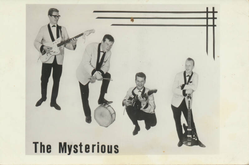 The Mysterious - 1960s [Holland] - Publicity Postcard