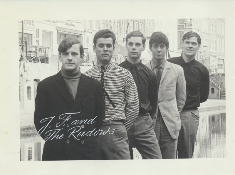 John Fire and the Rudows - 1960s [Holland] - Publicity Photo