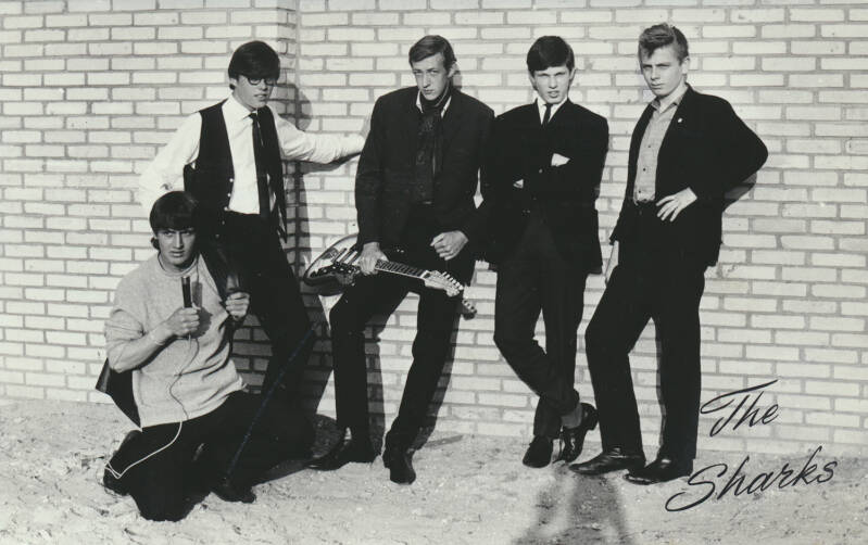 The Sharks - 1960s [Holland] - Publicity Photo