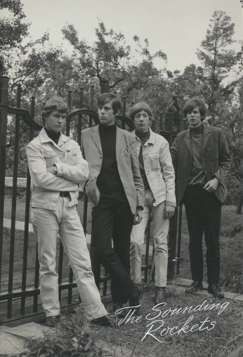 The Sounding Rockets - 1960s [Holland] - Publicity Photo