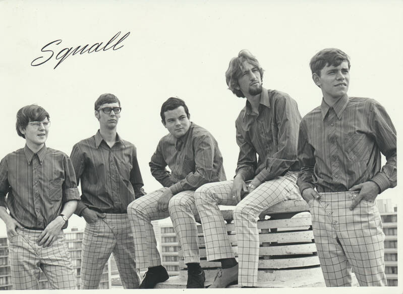 Squall - 1960s [Holland] - Publicity Photo