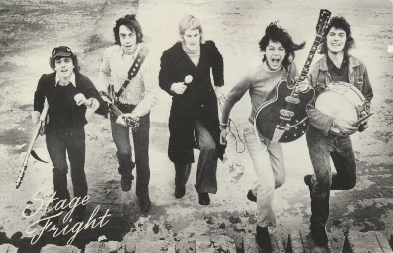 Stage Freight - 1960s [Holland] - Publicity Postcard