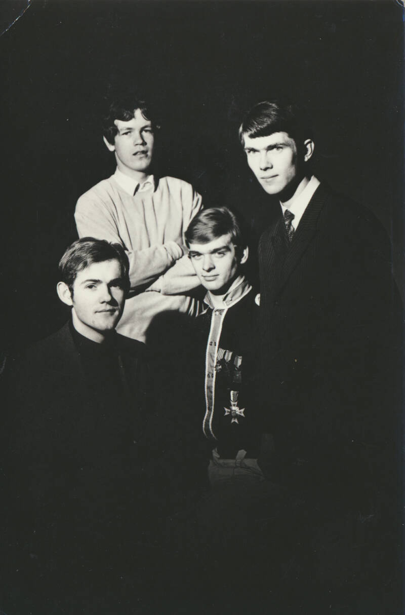 The Statues - 1960s [Holland] - Publicity Postcard