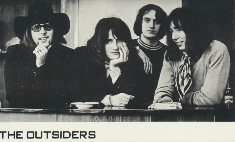 The Outsiders - 1968 [Holland] - Publicity Photocard