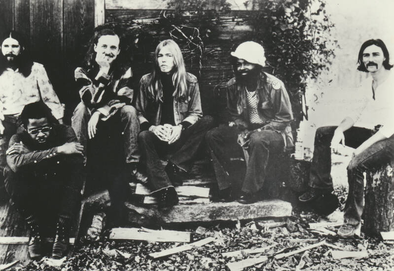Allman Brothers Band - 1970s [Holland] - Publicity Photocard