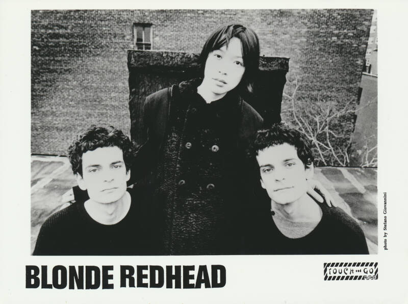 Blonde Redhead - 1990s [Holland] - Publicity Photocard