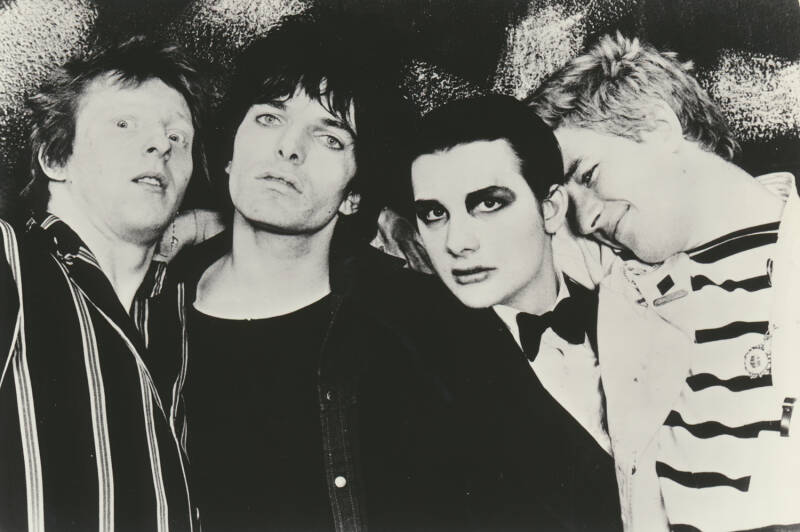 The Damned - 1977 [Holland] - Publicity Photocard