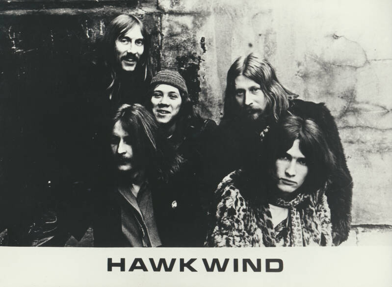 Hawkwind - 1970s [Holland] - Publicity Photo