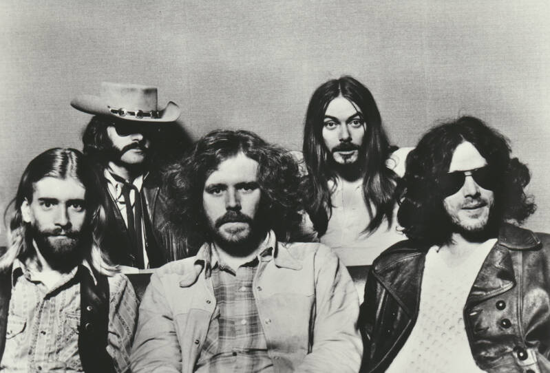 The New Riders Of The Purple Sage - 1970s [Holland] - Publicity Photocard