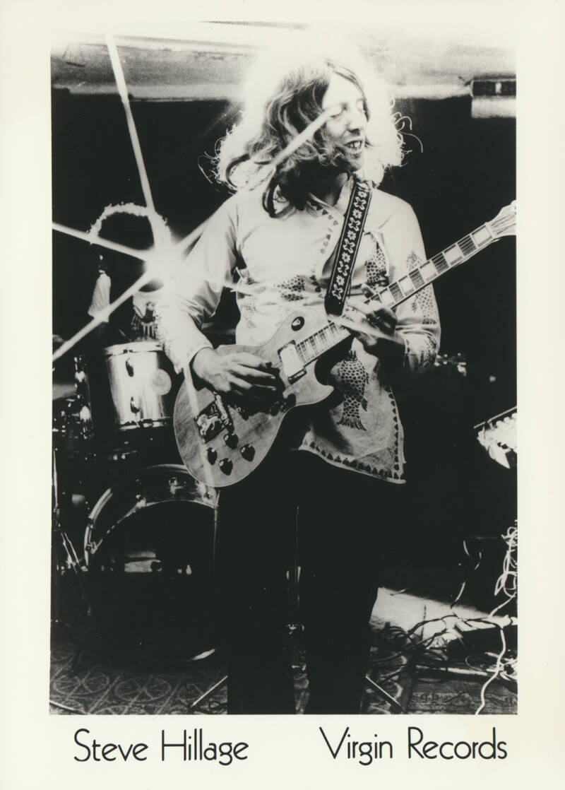 Steve Hillage (Gong, System 7) - 1970s [Holland] - Publicity Photo