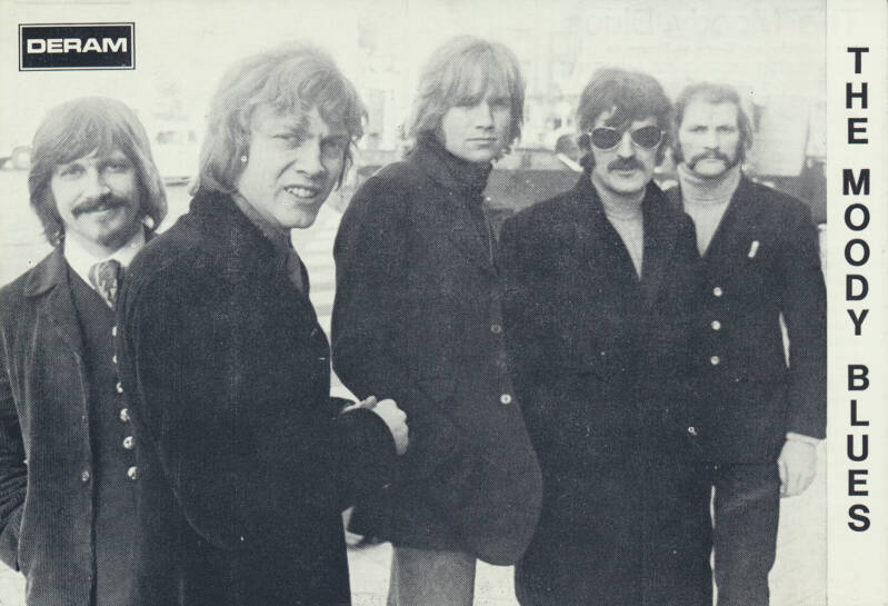 The Moody Blues - 1969 [Holland] - Publicity Postcard