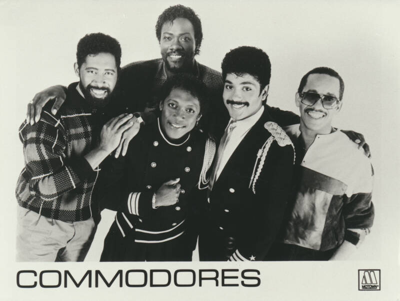 Commodores - 1980s [Holland] - Publicity Photo