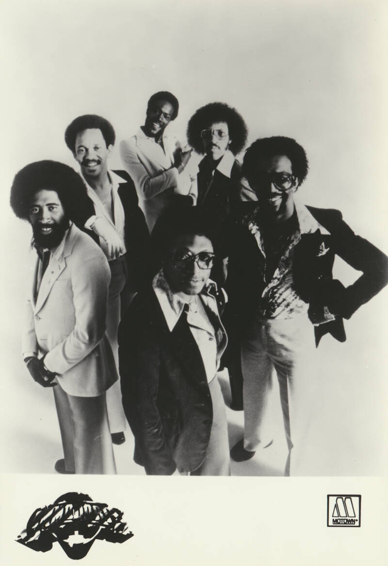 Commodores - 1970s [Holland] - Publicity Photocard