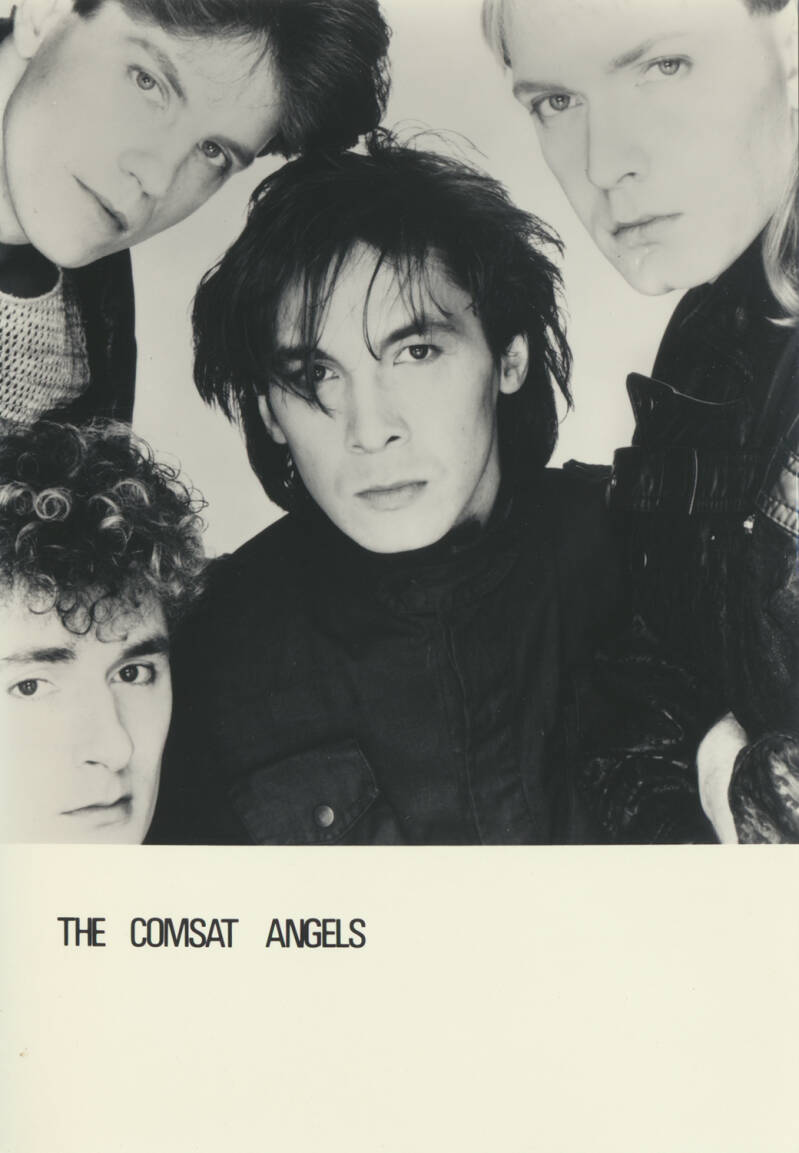 The Comsat Angels - 1980s [Holland] - Publicity Photocard