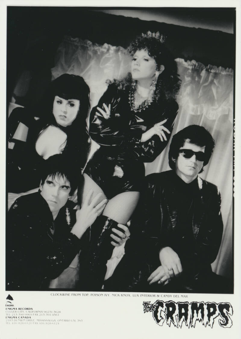 The Cramps - 1980s [Holland] - Publicity Photo