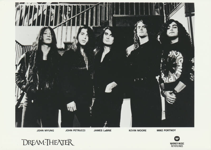 Dream Theater - 1990s [Holland] - Publicity Photo