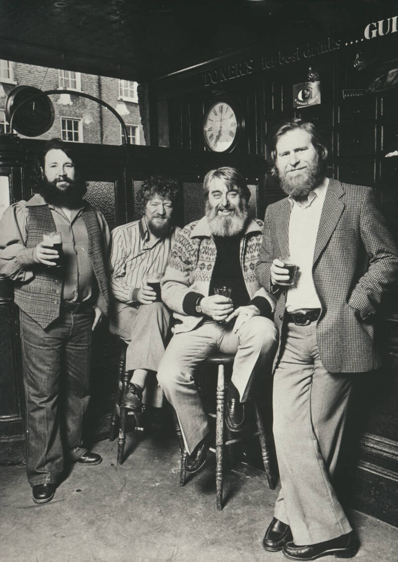 The Dubliners - 1970s [Holland] - Publicity Photo