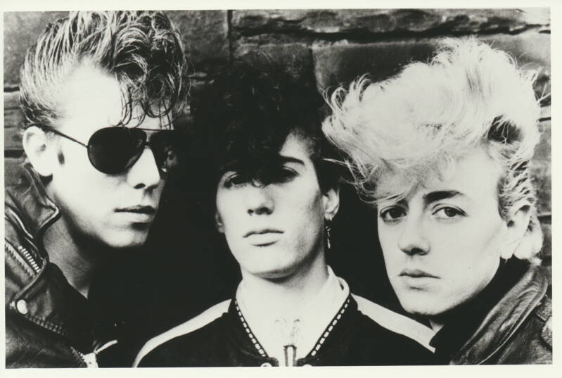 The Stray Cats - 1980s [Holland] - Publicity Photo