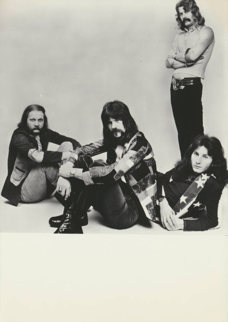 Think Tank - 1970s [Holland] - Publicity Photocard