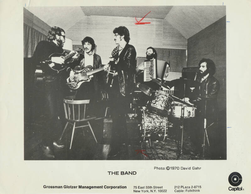 The Band - 1970 [USA] - Publicity Photo