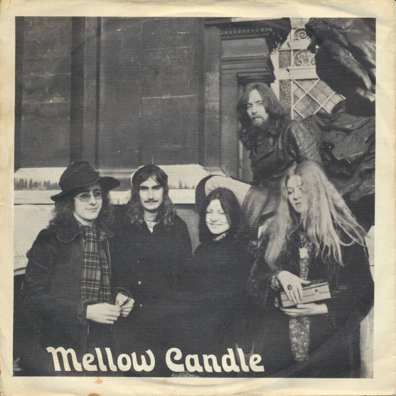 Mellow Candle - Dan The Wing [UK] - Promo 7""