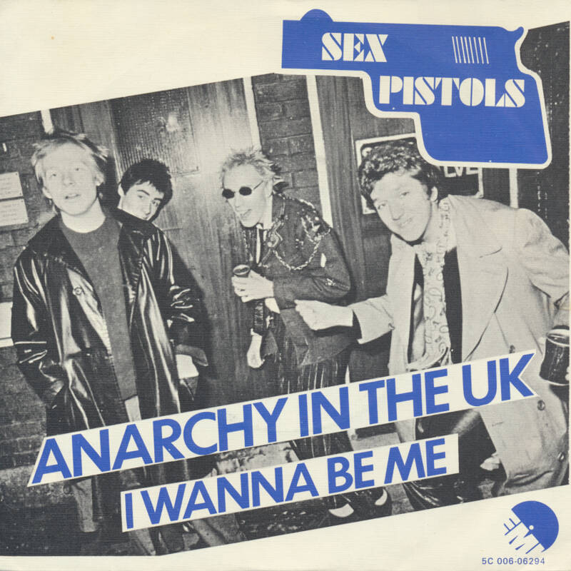 """Sex Pistols - Anarchy In The UK [Holland] - 7"""""""