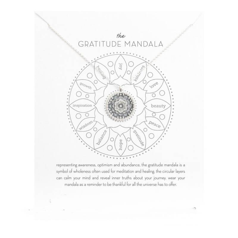 Halsketting The gratitude Mandala
